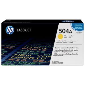 Toner HP CE252A (504A), galben (yellow), original
