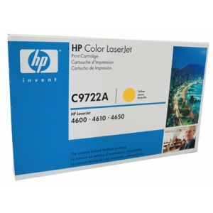 Toner HP C9722A (641A), galben (yellow), original