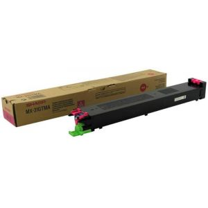 Toner Sharp MX-31GTMA, purpuriu (magenta), original