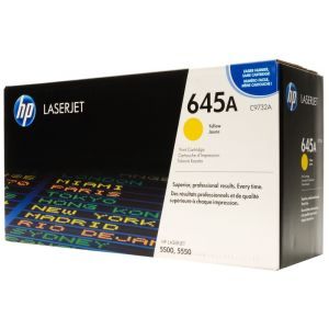 Toner HP C9732A (645A), galben (yellow), original