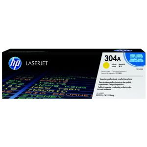 Toner HP CC532A (304A), galben (yellow), original