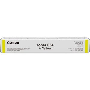 Toner Canon 034, galben (yellow), original