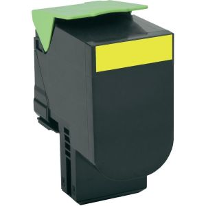 Toner Lexmark 802HY, 80C2HY0 (CX410, CX510), galben (yellow), alternativ