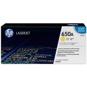 Toner HP CE272A (650A), galben (yellow), original