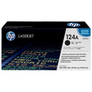 Toner HP Q6000A (124A), negru (black), original