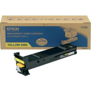 Toner Epson C13S050490 (CX28), galben (yellow), original