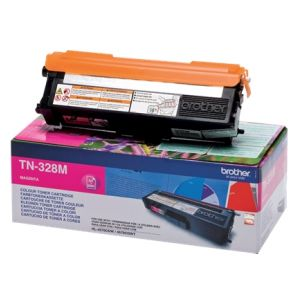 Toner Brother TN-328, purpuriu (magenta), original