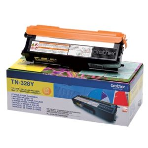 Toner Brother TN-328, galben (yellow), original