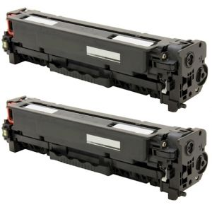 Toner HP CE320AD (128A), dvojbalenie, negru (black), alternativ