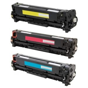 Toner HP CF371AM (128A), trojbalenie, multipack, alternativ