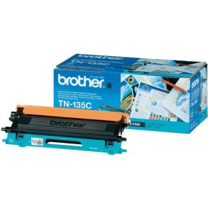 Toner Brother TN-135, azuriu (cyan), original