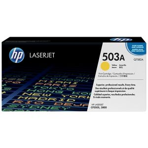 Toner HP Q7582A (503A), galben (yellow), original