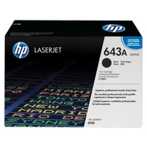 Toner HP Q5950A (643A), negru (black), original