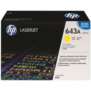 Toner HP Q5952A (643A), galben (yellow), original