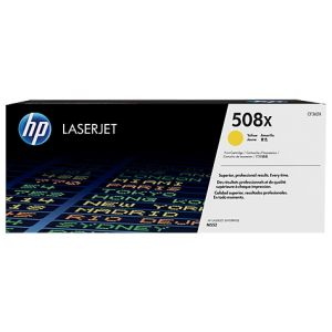 Toner HP CF362X (508X), galben (yellow), original