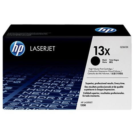 Toner HP Q2613X (13X), negru (black), original