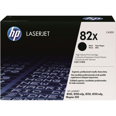 Toner HP C4182X (82X), negru (black), original