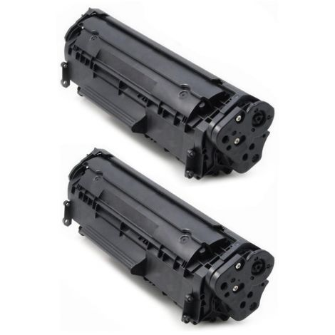 Toner HP Q2612AD (12A), dvojbalenie, negru (black), alternativ