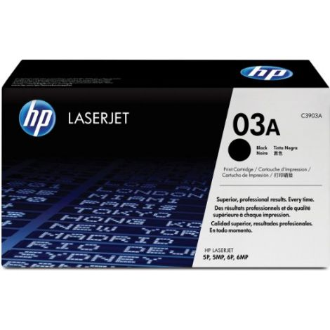 Toner HP C3903A (03A), negru (black), original
