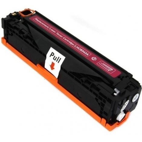 Toner HP CB543A (125A), purpuriu (magenta), alternativ