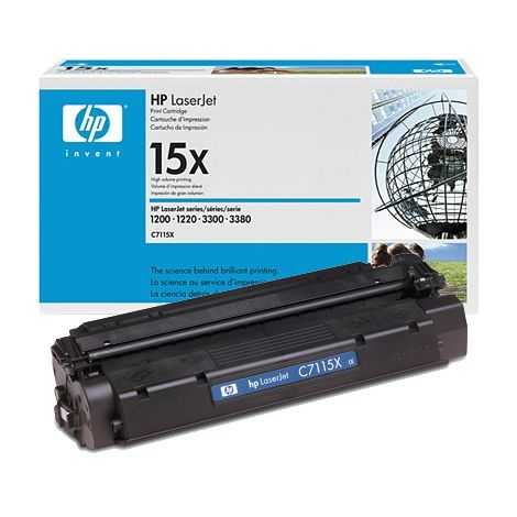 Toner HP C7115X (15X), negru (black), original