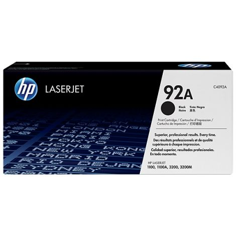 Toner HP C4092A (92A), negru (black), original